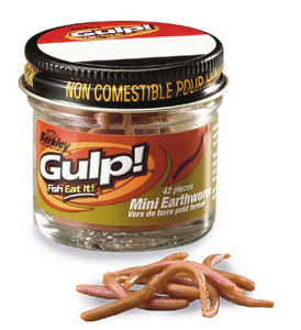 Bild på Gulp Mini Earthworms Brun Wiggler
