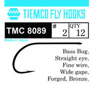 Bild på Tiemco T8089 Bass Bugg (12 pack)