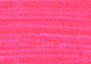 Bild på Standard Chenille Fine (3mm) Fluo Red