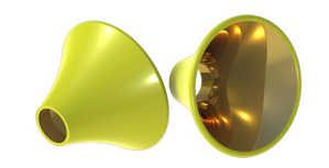 Bild på Pro ConeDisc (Yellow) Large (9st/förp)