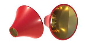 Bild på Pro ConeDisc (Red) Large (9st/förp)