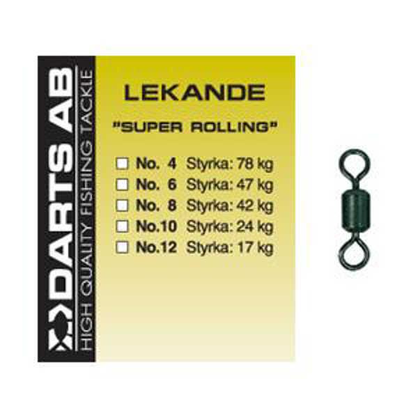 Bild på Darts Super Rolling Lekande (3-8 pack)
