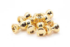 Bild på Dumbbell Eyes Gold (10-pack) 4mm