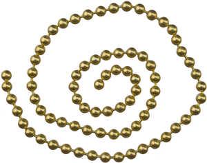 Bild på Kulkätting Guld Medium (3,2mm)