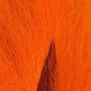 Bild på Hjortsvans/Bucktail i bitar Fluo Orange