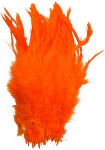 Bild på Schlappen (Lösa fjädrar från tuppnacke) Orange