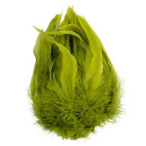 Bild på Schlappen (Lösa fjädrar från tuppnacke) Olive