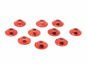Bild på Ufo Disc 6mm (fler färger) Metallic Red