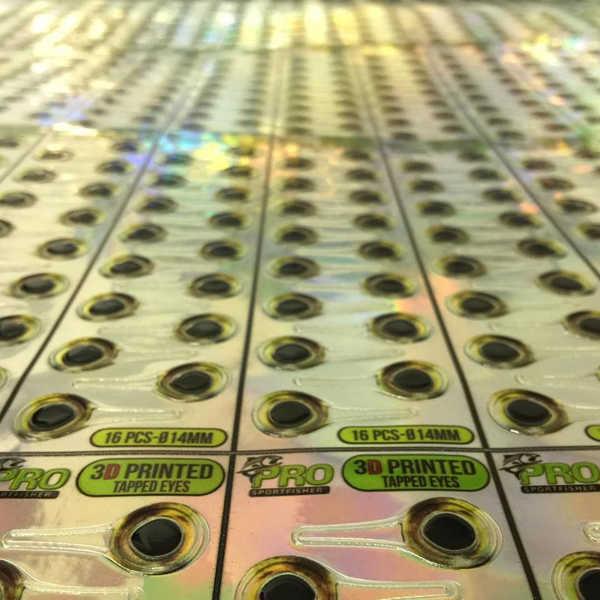 Bild på Pro 3D Tabbed Eyes