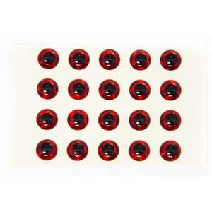 Bild på Epoxy Eyes 3D 4mm (fler färger) Red