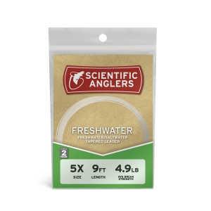 Bild på Scientific Anglers Freshwater - 9 fot (2-pack)  7X