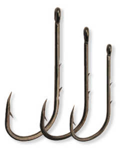 Bild på Darts Worm Hook (9 pack) Large (#1/0, #1, #2)