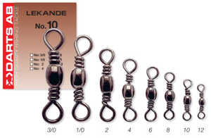 Bild på Darts Lekande (5-11 pack) #1/0 / 53kg (5 pack)