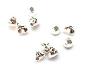 Bild på FITS Tungsten Coneheads Frödin (10-pack) Silver - XS
