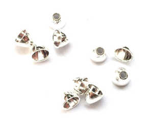 Bild på FITS Tungsten Coneheads Frödin (10-pack) Silver - Small