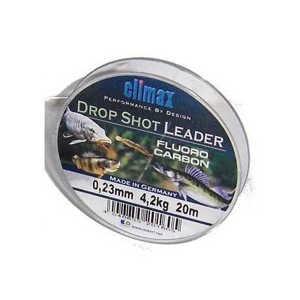 Bild på Climax Drop Shot Fluorocarbon Leader (20m) 0,23mm / 4,2kg