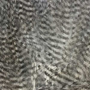 Bild på Marabou Fine Barred Feathers White