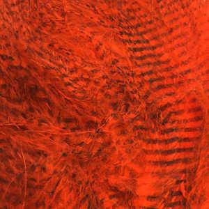 Bild på Marabou Fine Barred Feathers Hot Orange