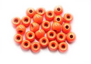 Bild på Tungstens Beads (10-pack) Fluo Orange 4,6mm