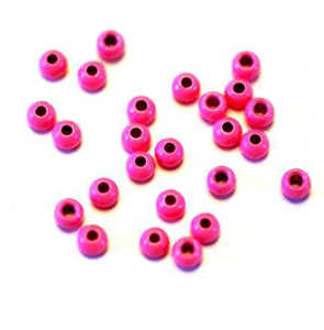 Bild på Tungstens Beads (10-pack) Fluo Pink 4,6mm