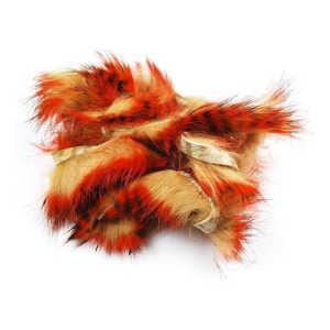 Bild på Tiger Barred Rabbit Strips Black/Orange over Tan