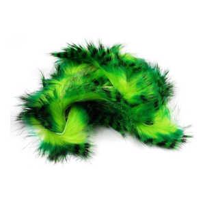 Bild på Tiger Barred Rabbit Strips Mahi Green over Chartreuse