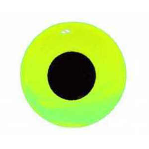 Bild på FutureFly 3D Epoxy Eyes 6mm Fluo Yellow