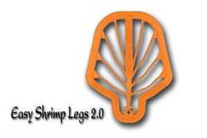 Bild på Easy Shrimp Legs 2.0 Super Fluo Orange