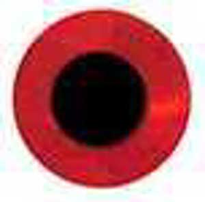 Bild på Fish Eyes Flat Holo 6mm (120 pack) Red