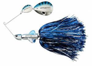Bild på Effzett Pike Rattlin Spinnerbait 56g Silver / Blue
