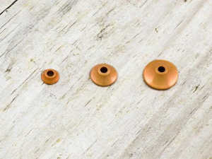 Bild på FITS Tungsten Turbo Cones (10-pack) Orange Metallic - XS