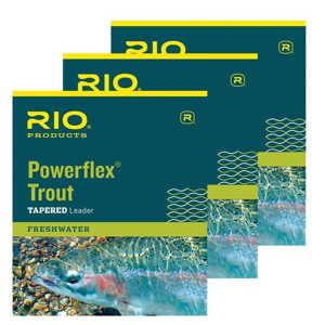 Bild på RIO Powerflex Trout - 9 fot (3 pack) 3X