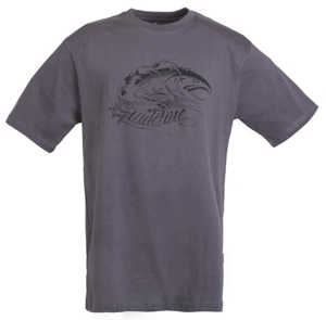 Bild på Guideline Angry Salmon ECO Tee Charcoal Large