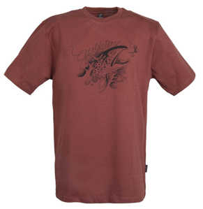 Bild på Guideline Angry Trout ECO Tee Brick Medium