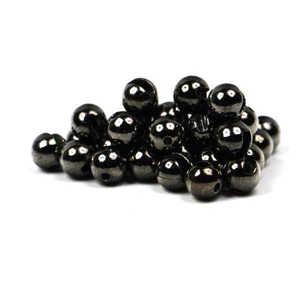 Bild på Slotted Tungsten Beads (3mm) Black Nickel