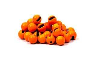 Bild på Slotted Tungsten Beads (3mm) Fl. Orange