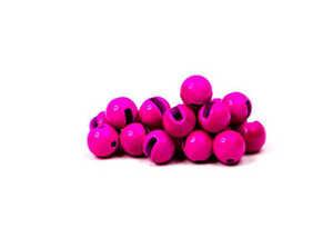 Bild på Slotted Tungsten Beads (3mm) Fl. Pink