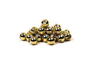 Bild på Slotted Tungsten Beads (3mm) Gold