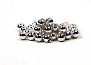 Bild på Slotted Tungsten Beads (3mm) Silver