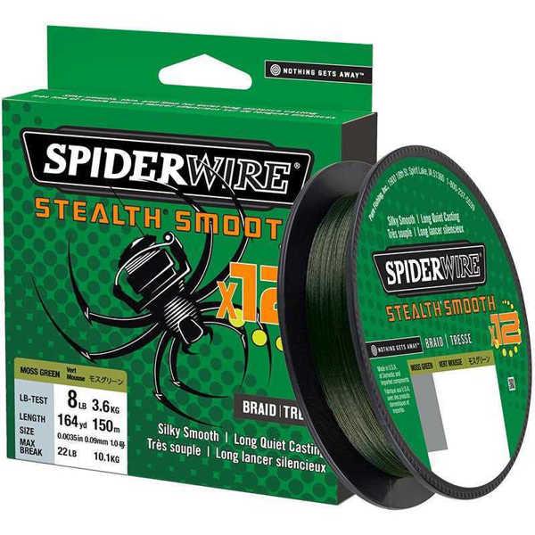 Bild på Spiderwire Stealth Smooth 12 Moss Green 150m