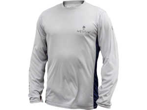 Bild på Westin Pro UPF Long Sleeve Grey/Navy Blue Large