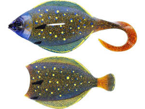 Bild på Westin Flat Matt Jig 13cm 85g Peacock Flounder