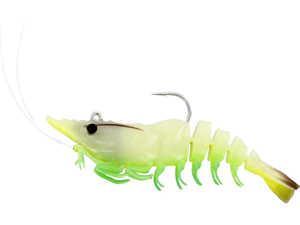 Bild på Westin Salty the Shrimp R'N R 7,5cm 9g (3 pack) Glowing Shrimp