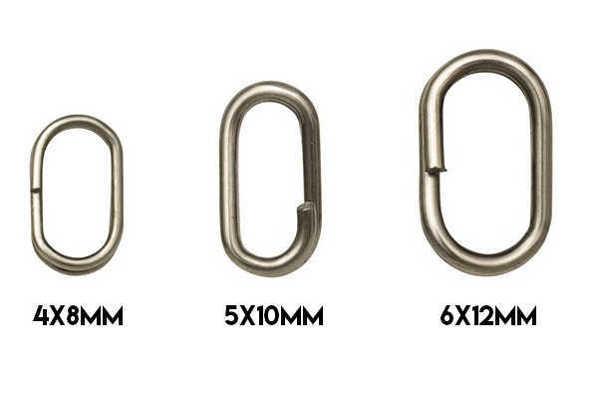 Bild på Kinetic Oval Splitring (10 pack)