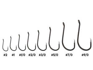 Bild på Kinetic Short Shank Single Hook (6-10 pack) #2/0 (8 pack)