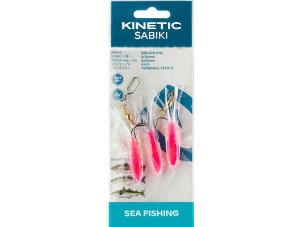 Bild på Kinetic Sabiki Squido Hot Pink #4/0
