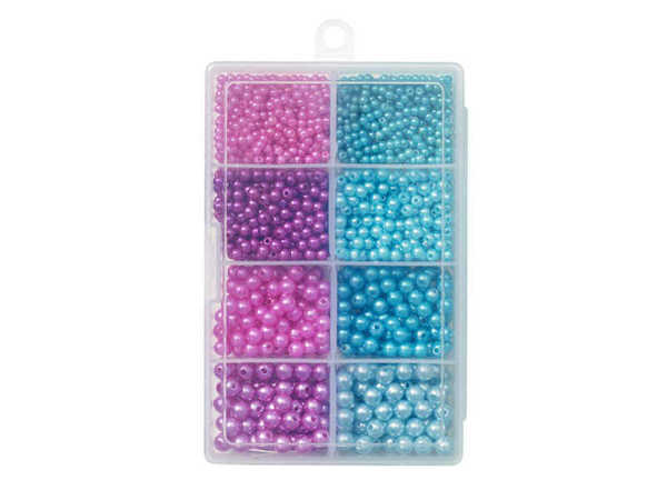 Bild på Kinetic Pearl Beads Kit Purple/Light Blue