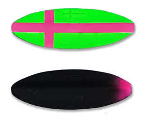 Bild på Viking Lures Præsten Classic 7g Custom Green/Pink Cross