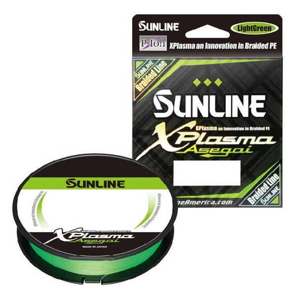 Bild på Sunline XPlasma Asegai X8 Light Green 150m