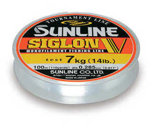 Bild på Sunline Siglon V Monofilament Clear 100m 0,205mm / 4kg